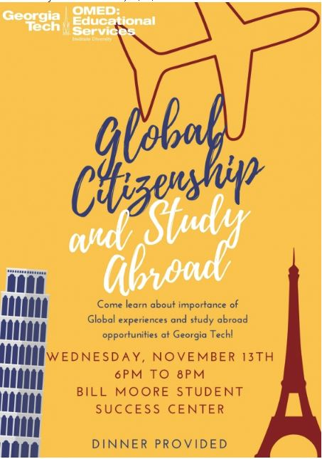edge study abroad info bill morroe success center 6pm to 8pm